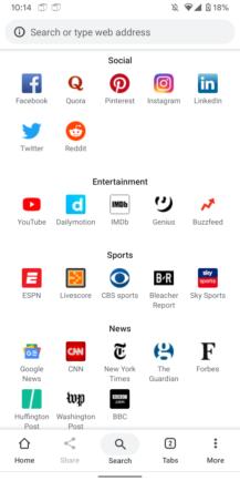 Chrome Canary 'En iyi siteler' önerilerini yeni sekme sayfasında test ediyor 3