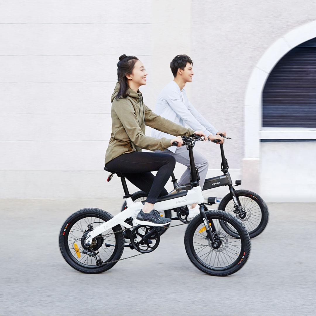 Xiaomi Himo C20, 80 km menzile sahip elektrikli bisiklet 2