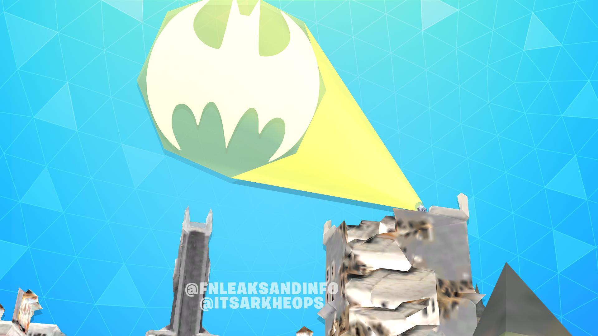 Fortnite  x Batman Gotham City Batman Sinyalini Sızdırdı