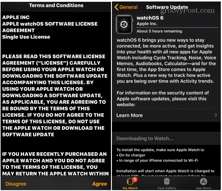 Nasıl Güncelleştirilir? Apple Watch 6'yı izlemek için 2