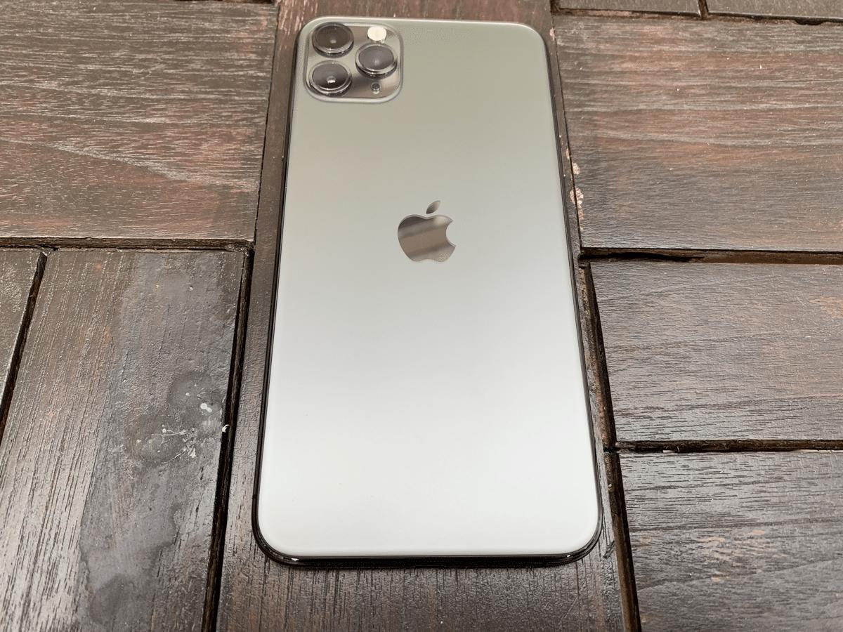 iPhone 11 Pro - cam mat siyah kaplama