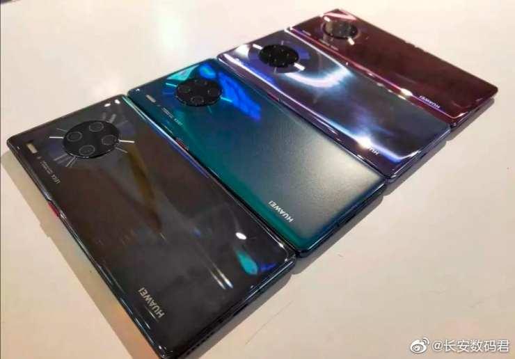 Huawei Mate 30 Pro renkleri
