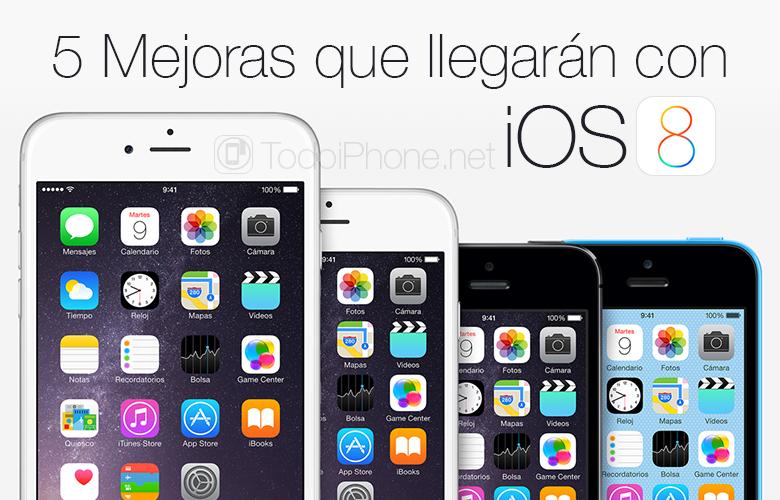 5 yarın iOS 8 ile gelecek olan geliştirmeler 1