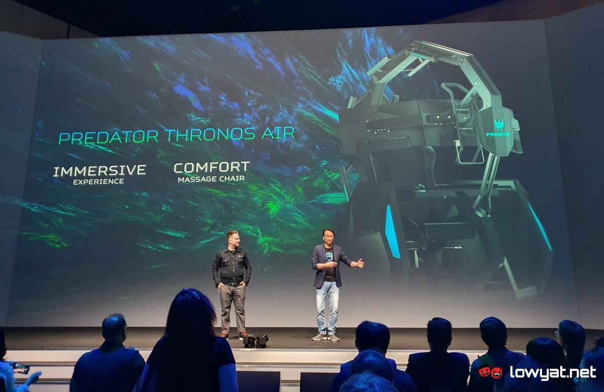 Acer Predator Thronos Air Gaming Masaj Koltuğu İle Yine Gıcırdıyor 1