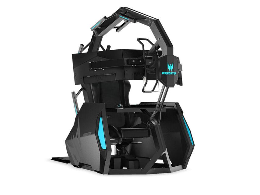 Acer oyun koltuğu oyuncular için bir taht ve şimdi daha az maliyetli 1