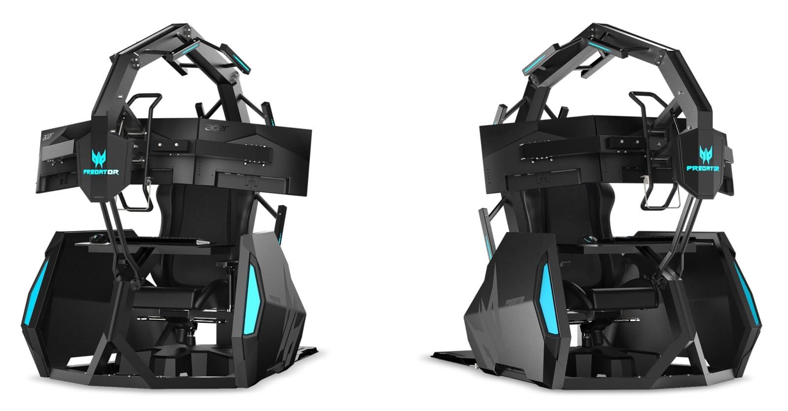 Acer sadece 14 bin dolarlık bir oyun koltuğunu açıkladı - Evet, 14 bin dolarlık bir oyun koltuğu 1