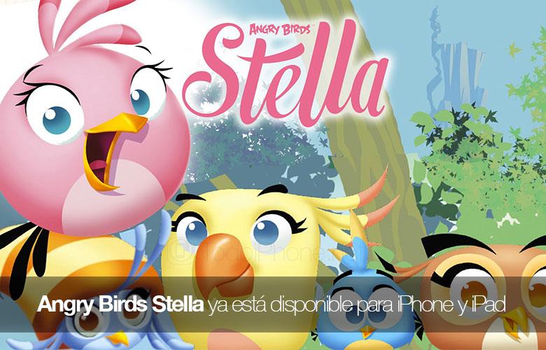 Angry Birds Stella artık iPhone ve iPad için mevcut App Store'da 1