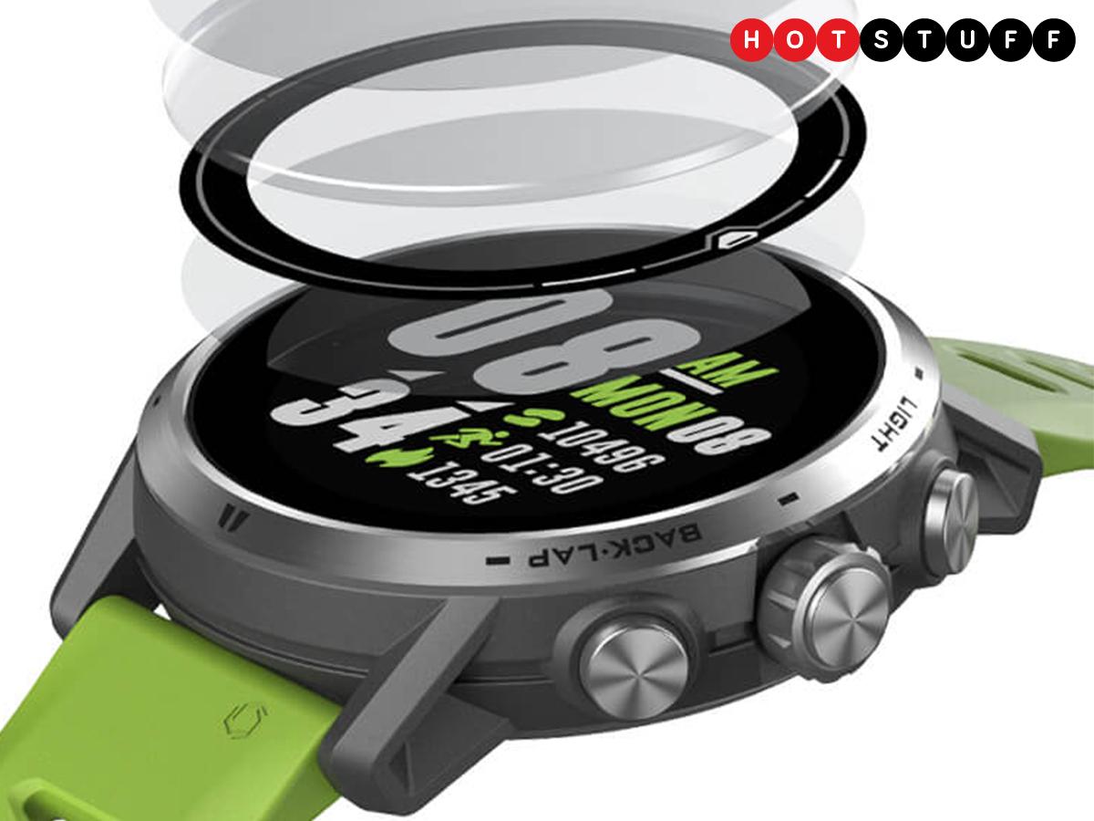 Apex Pro, Coros'tan ilk dokunmatik çoklu spor smartwatch 1