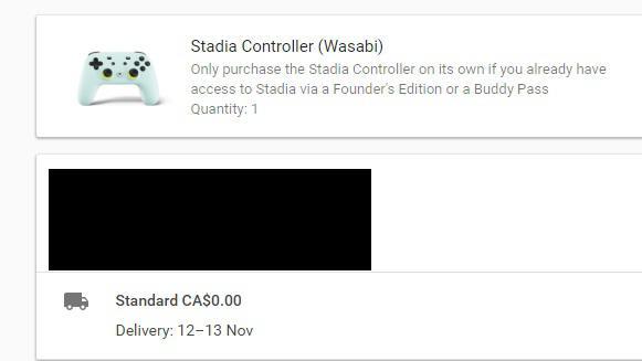 Bazı Google Stadia ön siparişleri, donanıma ne kadar sürede ulaşabileceğini ima ediyor 3