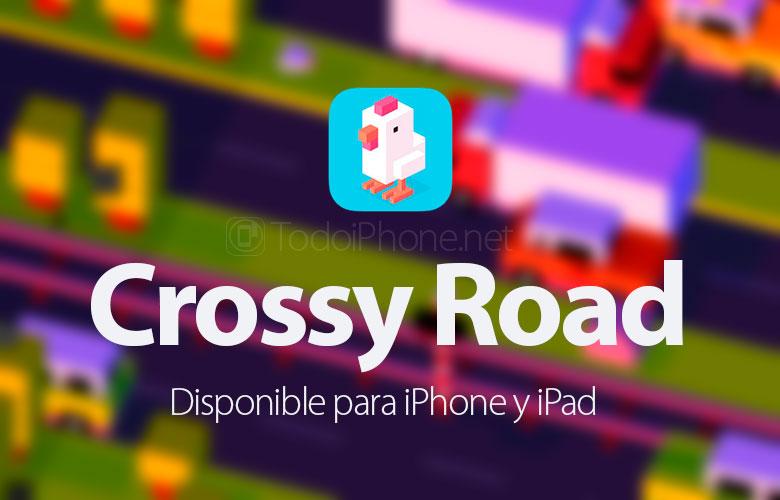 Crossy Road, iPhone ve iPad için bir arcade tarzı çeviklik oyunu 1