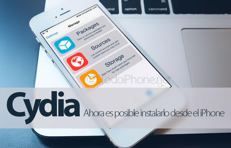 Cydia artık iPhone'dan Jailbreak ile yüklemek mümkün 1