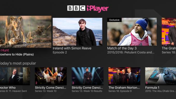 Apple    TV BBC iPlayer