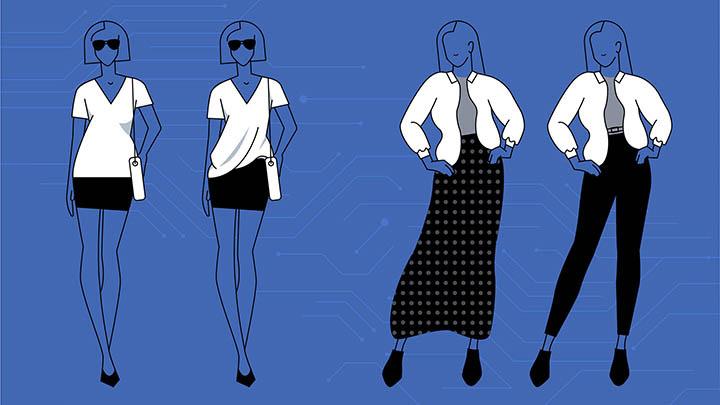 Facebook kıyafet seçmenize yardımcı olacak bir AI ile deneyler yapıyor 1