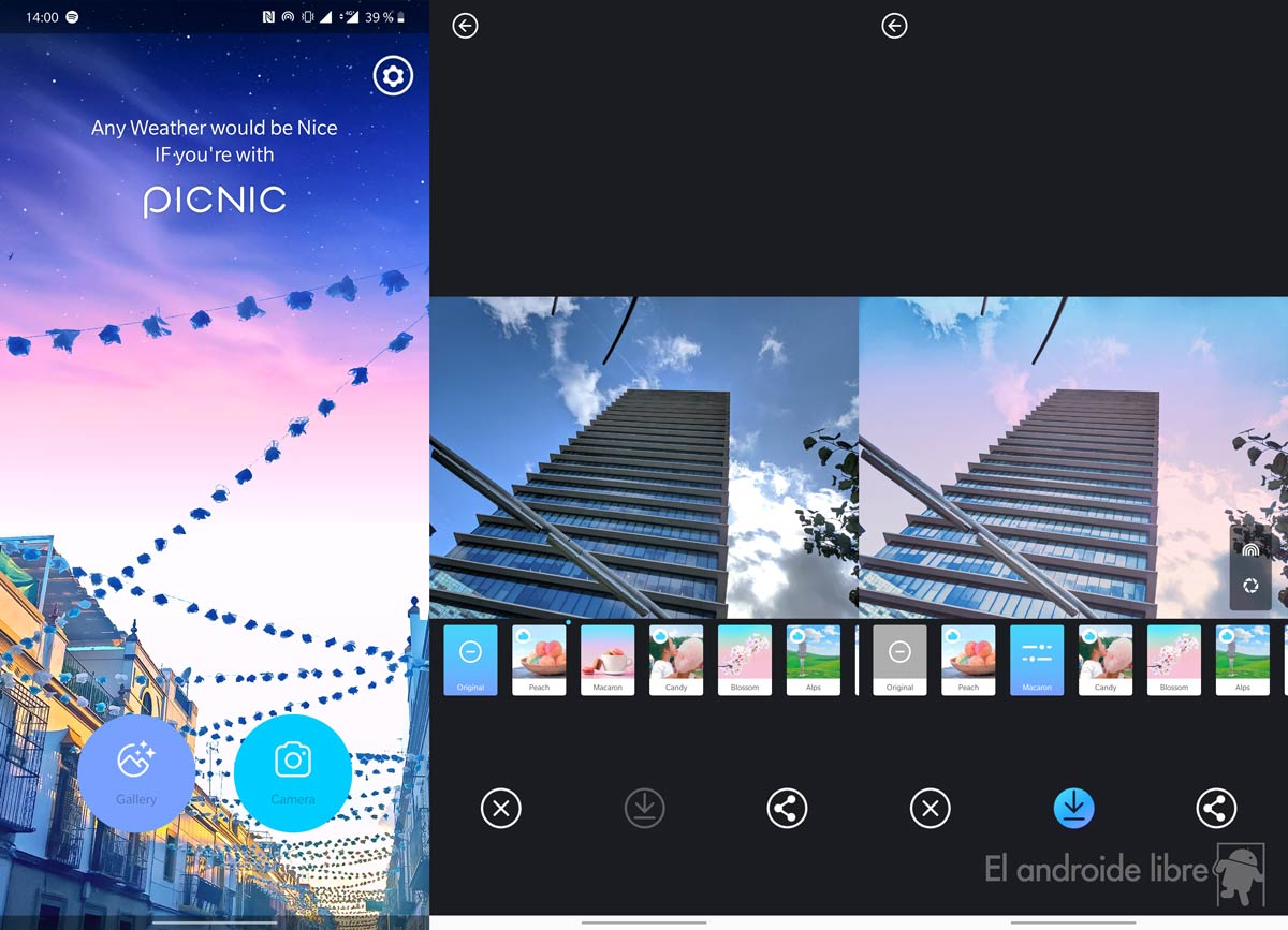 Picnic uygulamasıyla fotoğraflarınızın gökyüzünü değiştirin