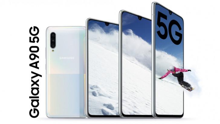 Galaxy A90 5G, hayallerinizdeki ucuz, düz ekran S10 + 1