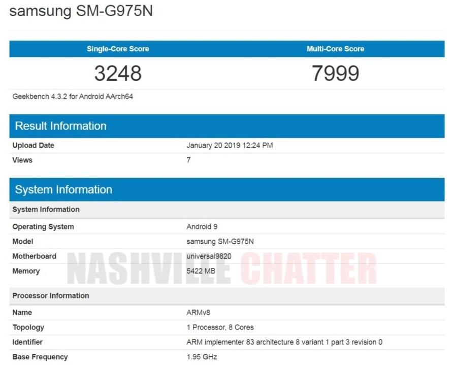 Galaxy Exynos 9820 ile S10 Plus, Snapdragon 855'teki varyanttan daha az güçlü olurdu 2