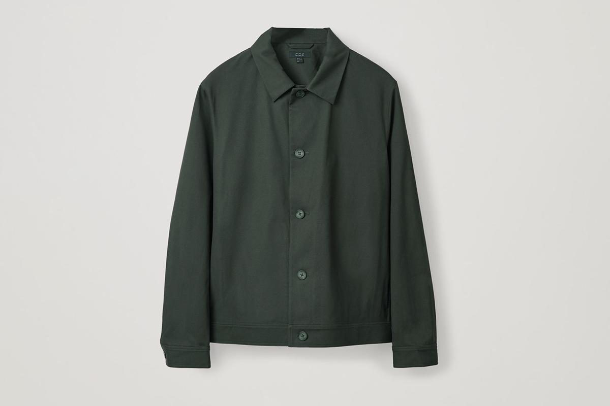 Düğmeli Gömlek Ceket