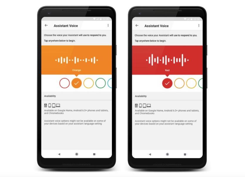 Google Assistant yeni bir ses aldım 1