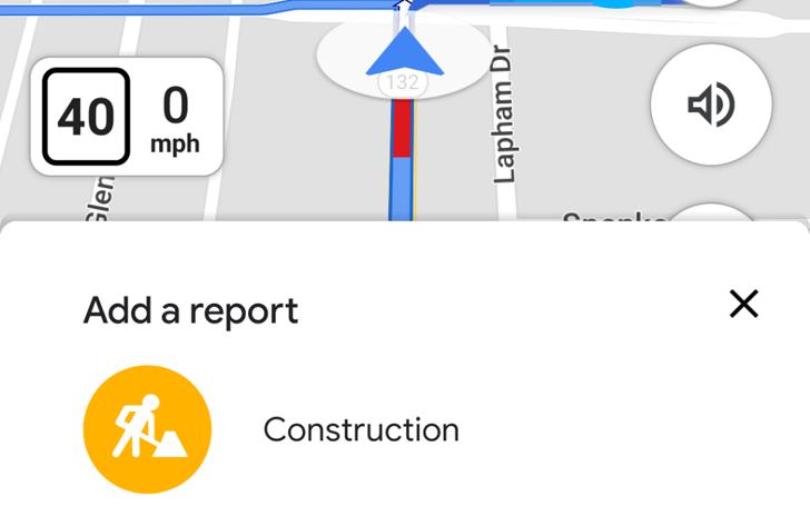 Google Haritalar, yol boyunca işler olup olmadığını bildirmeye zaten izin veriyor 1