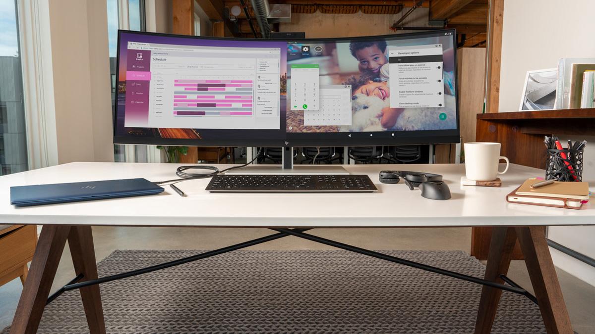 HP EliteDisplay S430c ultra geniş ekran Monitör Kasım ayında piyasaya sürülecek 1