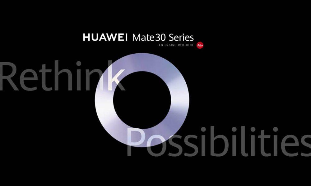 Huawei, Mate 30'un 19 Eylül'de başladığını onayladı 1