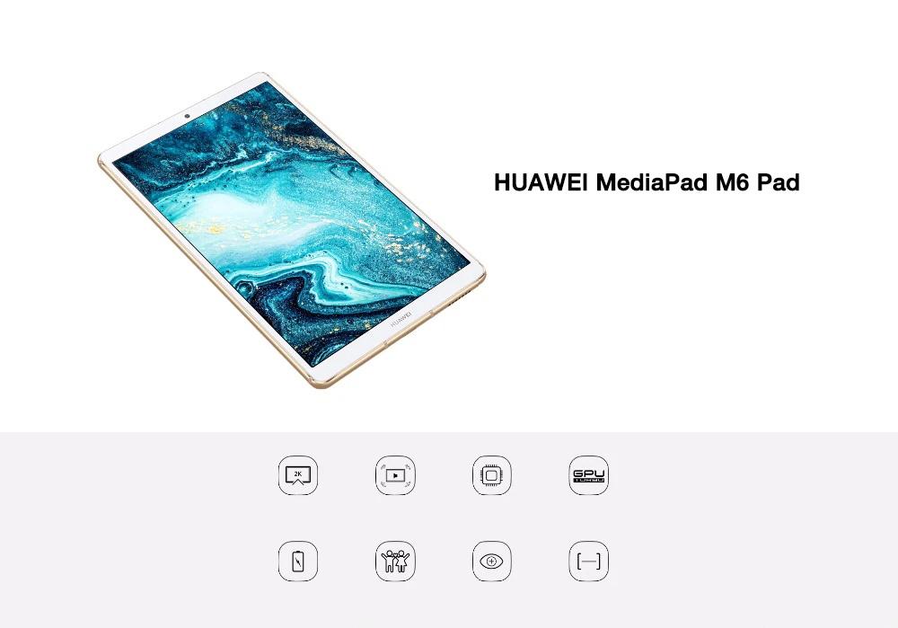 Huawei MediaPad M6 4G (Çince ve İngilizce sürümleri)
