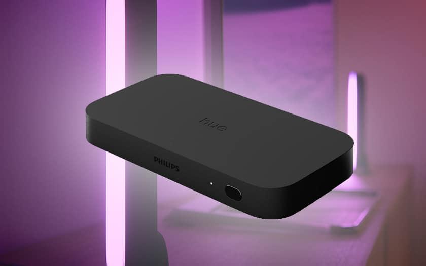 Hue Play HDMI Sync Box: Philips, ışıkları TV ile senkronize etmek için bir kutu başlatır 1