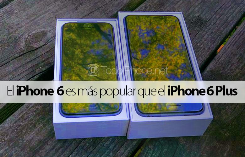 İPhone 6, iPhone 6 Plus'tan daha popüler 1