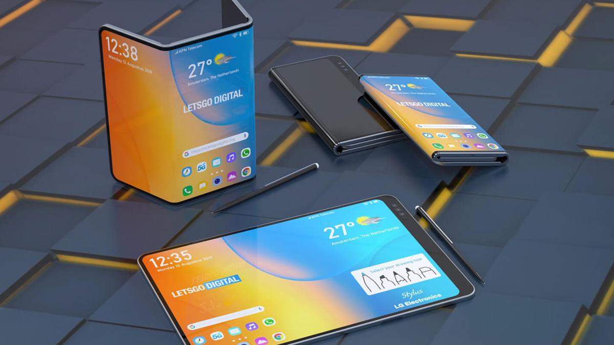 LG, çift katlamalı akıllı telefonunu stylus kalemle IFA 2019'da açıklayabilir 1