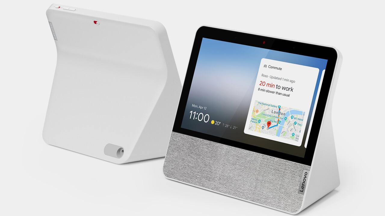 Lenovo Smart Display 7: daha kompakt Google Assistant daha fazla özellik ile