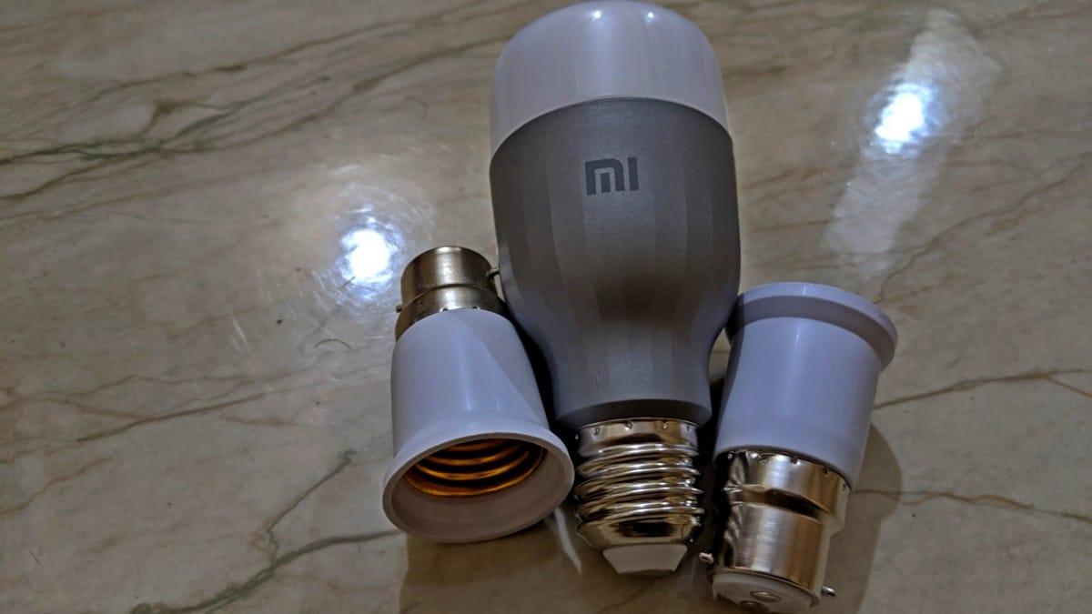 mi güvenlik kamera gövdesi 3 Mi Akıllı LED Ampul
