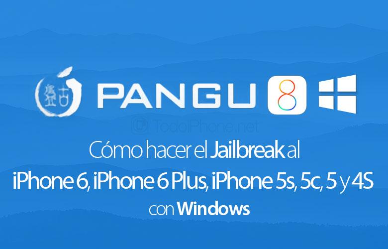 Pangu8 ile iPhone 6, iPhone 6 Plus, iPhone 5'ler, 5c, 5 ve 4S Jailbreak İşlemleri Nasıl Yapılır?Windows) 1