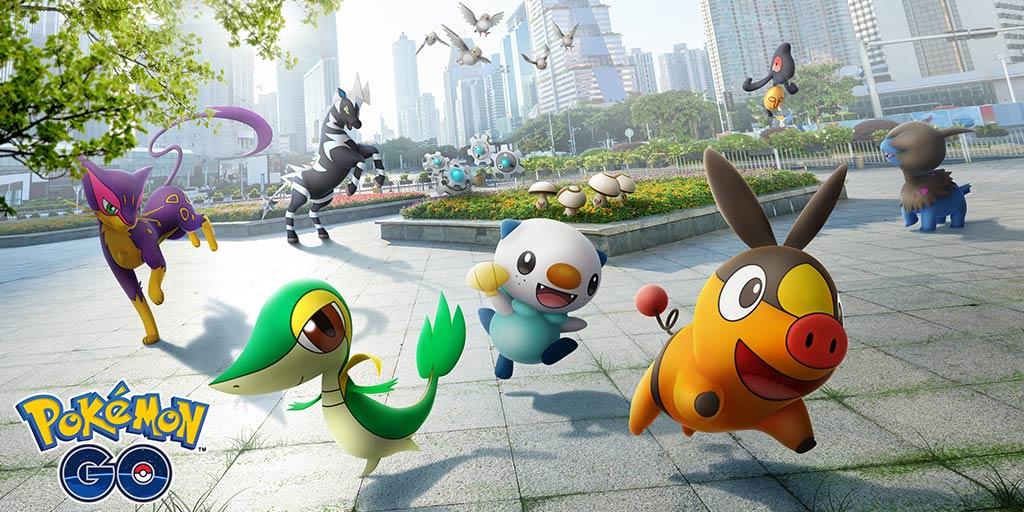 Pokémon Go, beşinci nesil Pokémon ve daha fazla sürpriz ekler