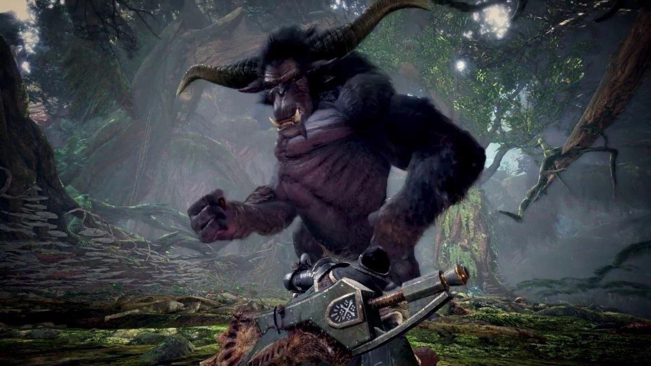 Rajang, Monster Hunter World'de gerçek bir SOB'ye benziyor: Iceborne'un TGS görüntüleri 1