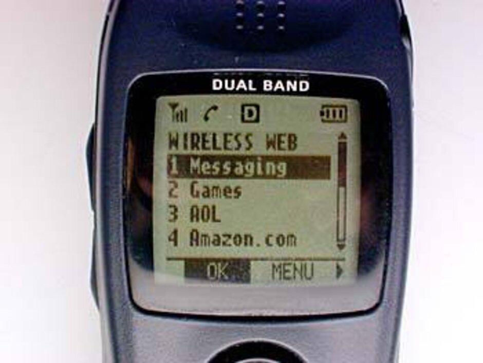 Erken bir WAP tarayıcısı örneği - SIM karttan yararlanma dünya genelinde 1 milyardan fazla cep telefonu kullanıcısına casusluk yapabilir