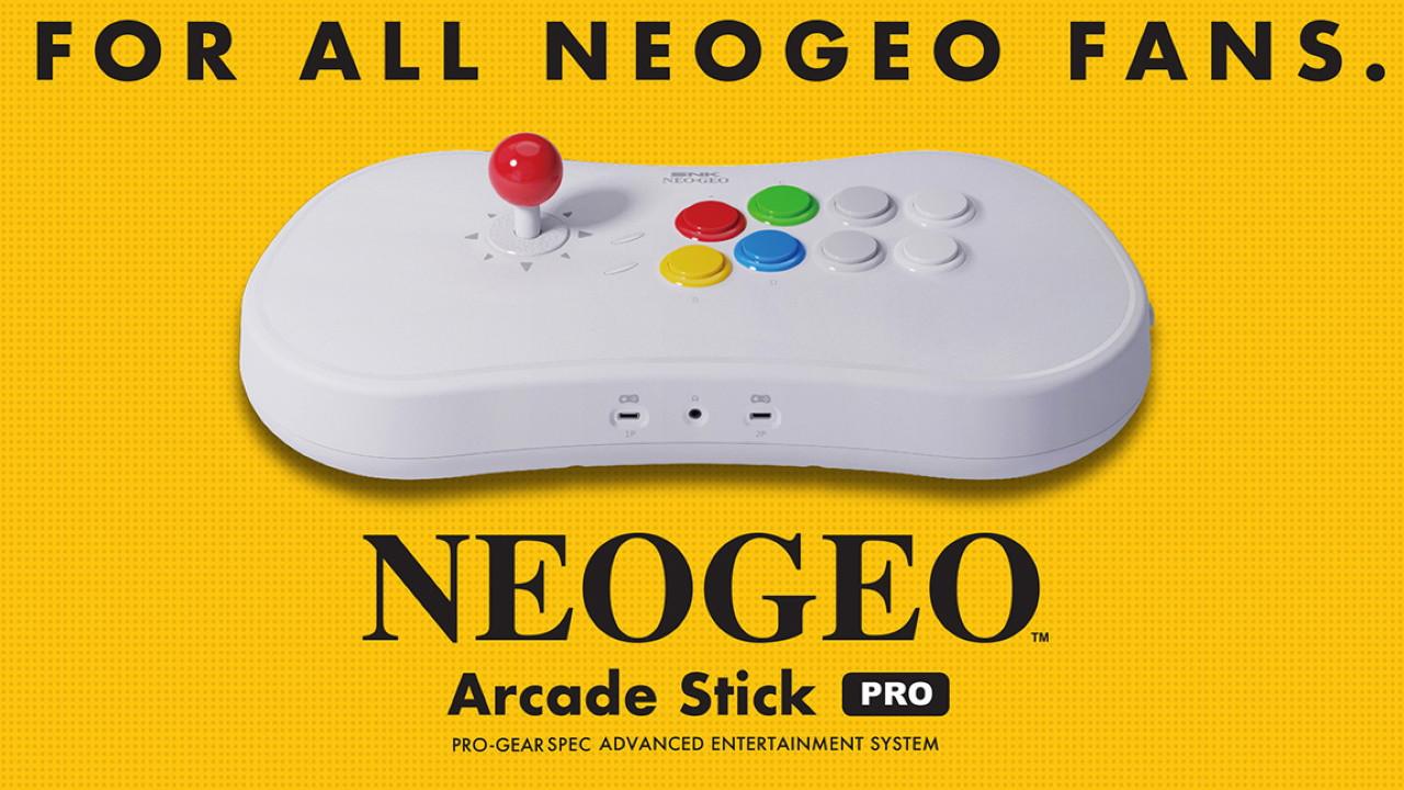 SNK Neo Geo Arcade Çubuk Pro