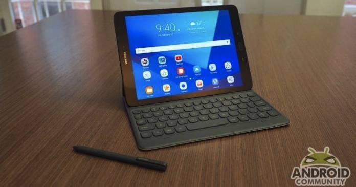 Samsung Galaxy Tab S3 Android 9 Börek