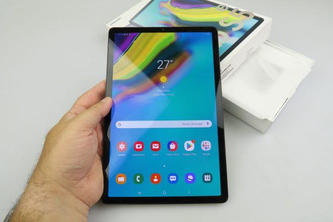 Samsung Galaxy Tab S5e Unboxing: Etrafında En Hafif, En İnce Tablet, 4G ve Bir Arayüz İyi Bir Takım Olur (Video) 1