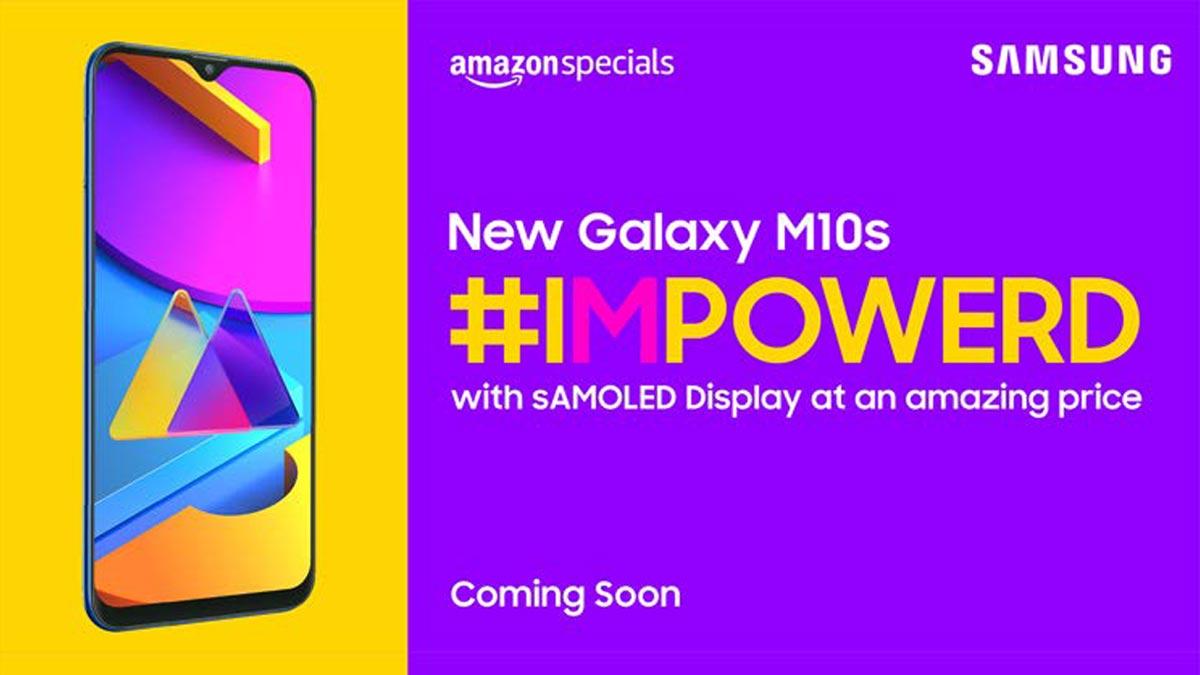 Samsung durmuyor, bu Samsung Galaxy M10S 1