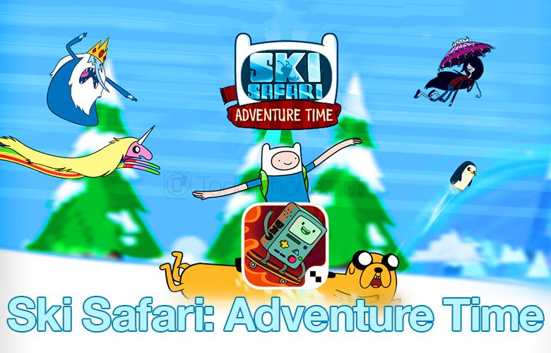 Ski Safari: iPhone ve iPad için Adventure Time, ÜCRETSİZ Promosyon Kodu alın 1