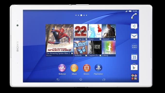 Sony Xperia Z3 Tablet Kompakt vs Retina Ekranlı iPad Mini - Özellikler karşılaştırması 2