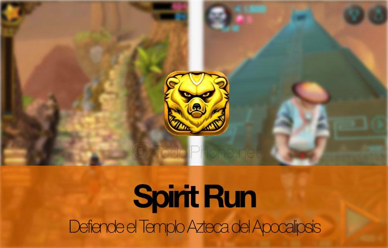 Spirit Run, iPhone ve iPad'iniz için sonsuz bir yarış oyunu 1