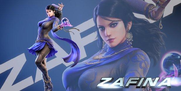 Tekken 7'de Zafina Hazır 2