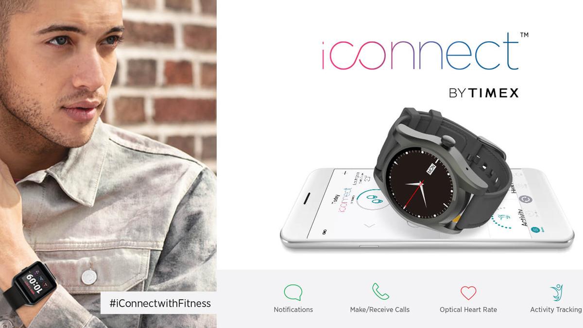 Timex Hindistan'da iConnect, iConnect Moda akıllı saatlerini piyasaya sürdü 1