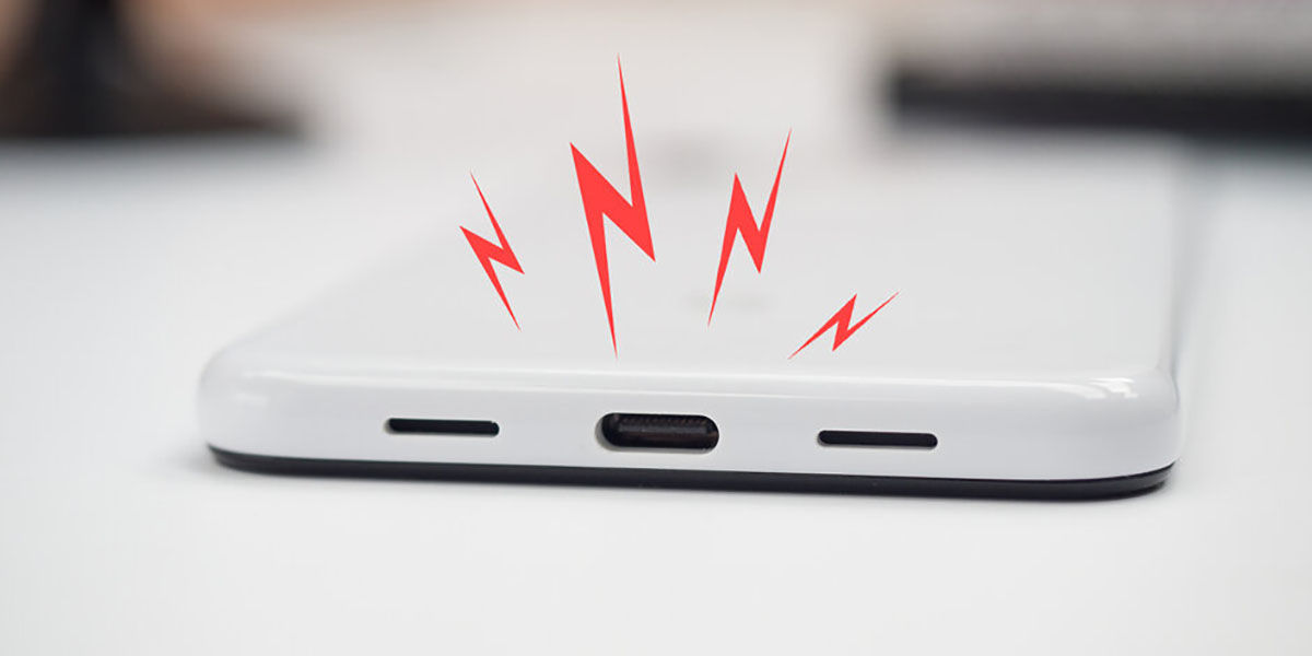 USB bağlantı noktası kirli veya sıcaksa Android 10 sizi uyarır