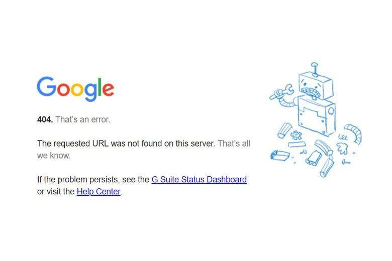 Genellikle bir web sayfası kapalı veya dengesiz olabilir