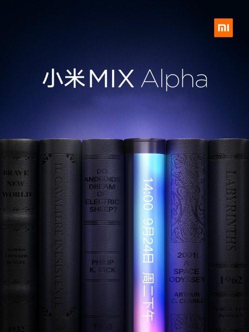 Xiaomi Mi MIX Alpha akıllı telefon dünyasında önemli bir rekor kıracak ve belki de bükülecektir (fotoğraf). 1