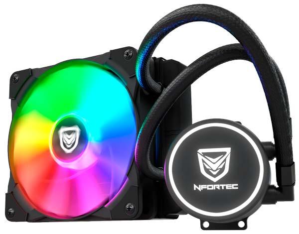Nfortec Hydrus RGB, bir fan