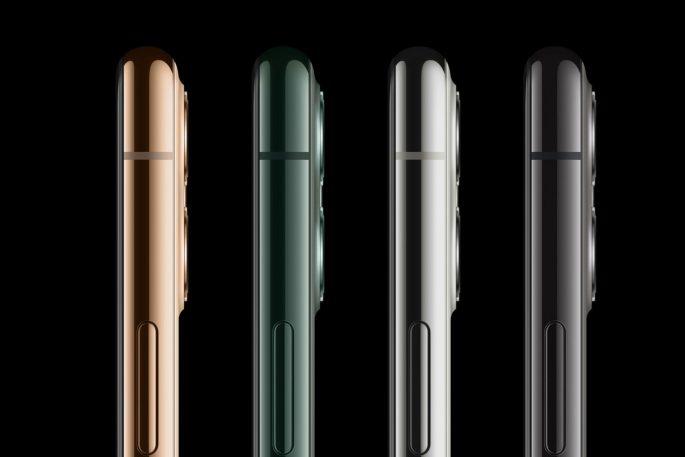 iPhone 11 Pro Max, üçlü kamera ve 6.5 inç Full HD + OLED ekrana sahip