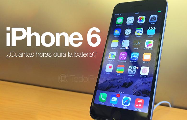 iPhone 6 Batarya şarj edilmeden önce kaç saat dayanıyor? 1